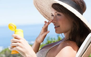 Sun protection for acne