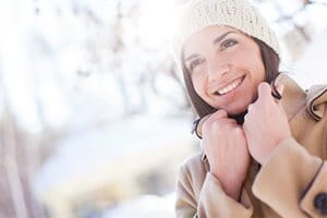 Environmental factors that affect skin: cold weather