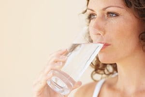 Lifestyle and skin: drink water