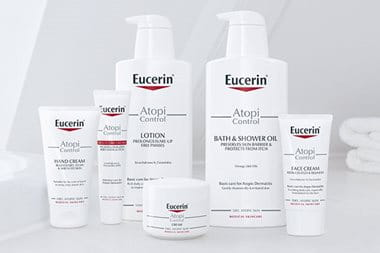Eucerin AtopiControl for adult eczema