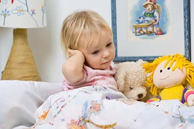 Childhood Eczema can cause sleepless nights