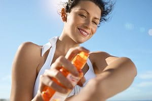 Sunscreen for your arms