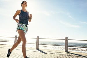 Sun protection for your body: exercise