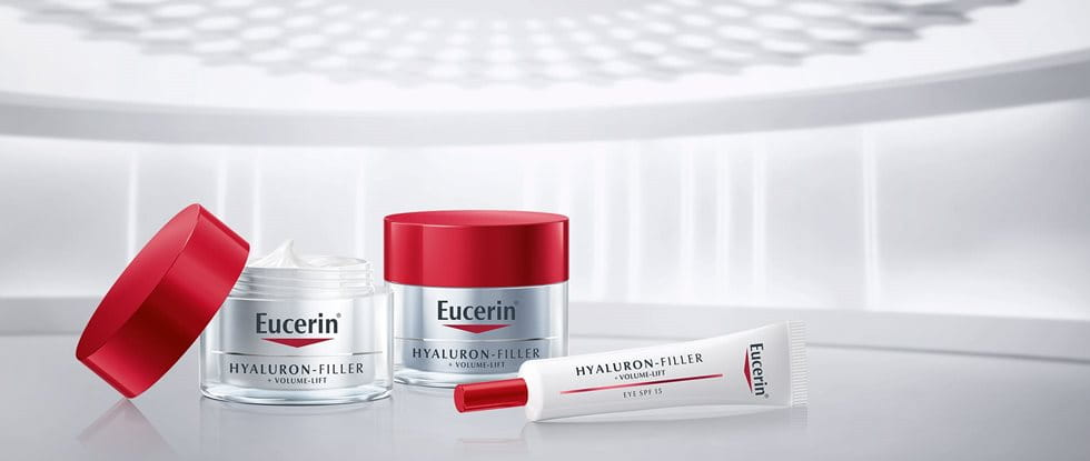 Eucerin Volume Filler is now known as Eucerin Hyaluron-Filler + Volume-Lift