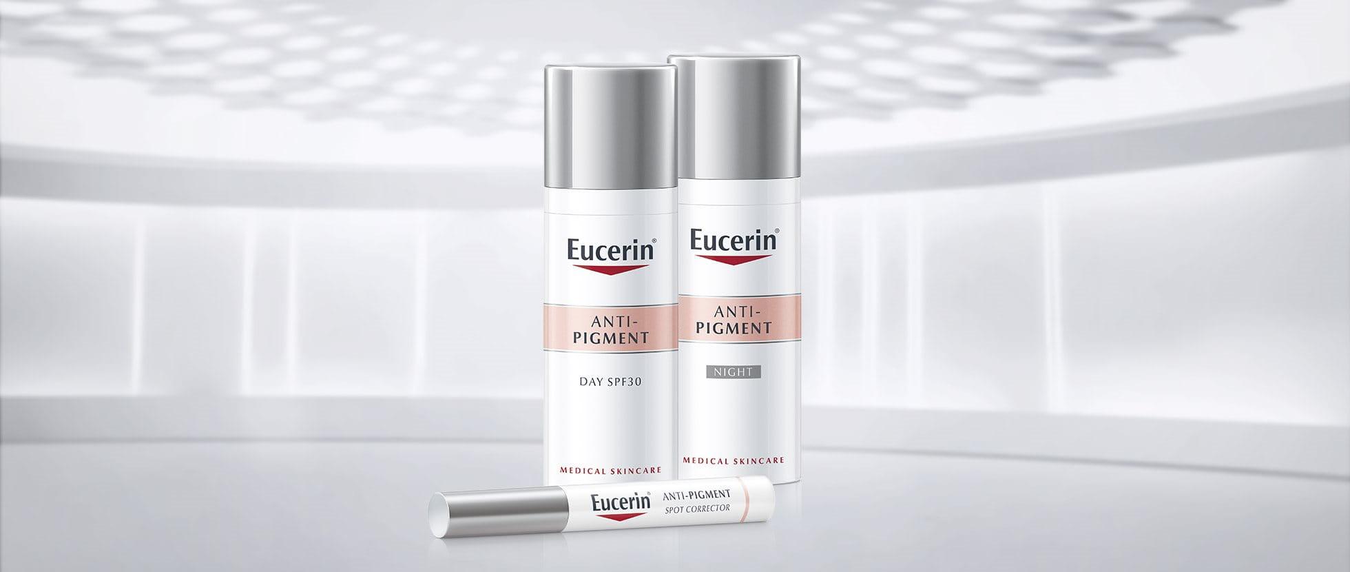 pigmentfläckar kräm eucerin